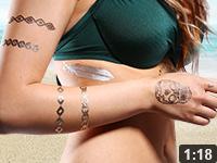 Flash Tattoos Nageldesign Video