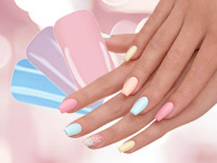 Pastell Nails