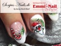 Weihnachtsmann und Zuckerstangen