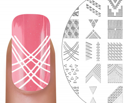 MoYou-London Stamping Schablone Holy Shapes 06