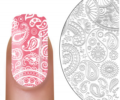 MoYou-London Stamping Schablone Fashionista 11
