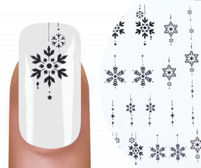 Emmi-Nail Watertattoo Snow Flakes