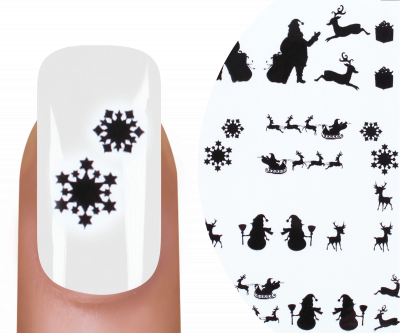 Emmi-Nail Watertattoo Christmas 12