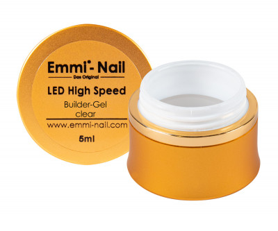 LED High-Speed Builder-Gel clear 5ml