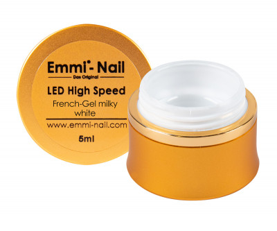LED High-Speed French Gel milky white 5ml