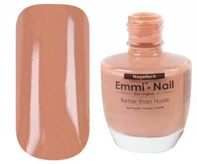 Emmi-Nail Nagellack Better than nude