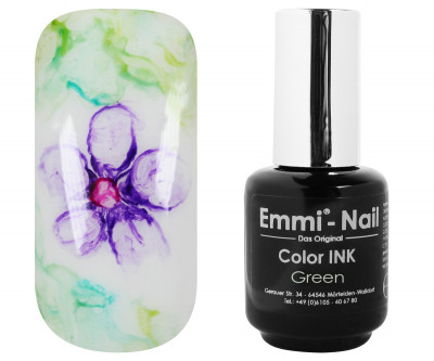 Emmi-Nail Color INK Green 5ml