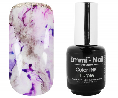 Emmi-Nail Color INK Purple 5ml