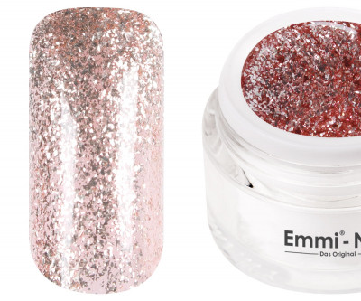 Emmi-Nail Farbgel Fairy Glitter Rose 5ml -F126-