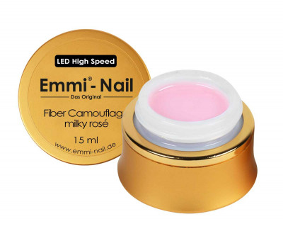 LED High-Speed Fiber Camouflage milky rose 15ml