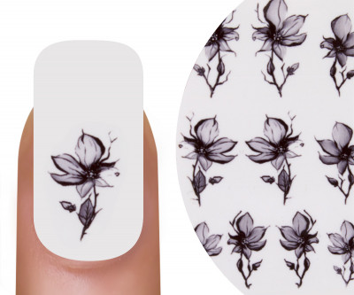 Emmi-Nail Watertattoo Flowers