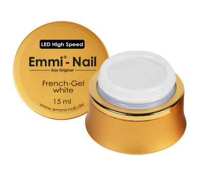 LED High-Speed French Gel white 15ml - VEGAN :)