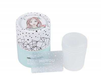 MoYou-London Crystal Clear Stamper und Scrapper
