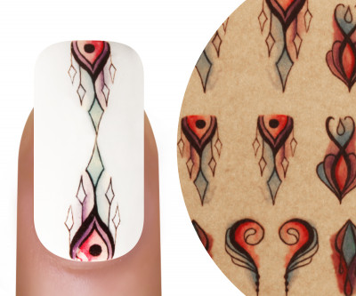 Emmi-Nail Watertattoo Ornamente Aquarell 5