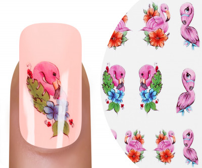 Emmi-Nail Watertattoo Flamingo