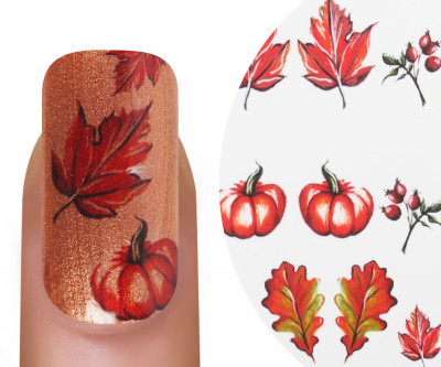 Emmi-Nail Watertattoo Herbst