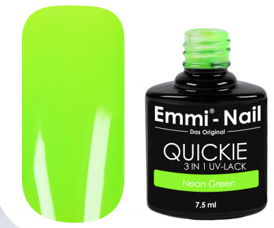 Emmi-Nail Quickie Neon Green 3in1  -L313-
