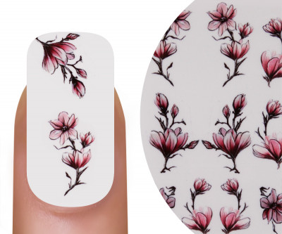 Emmi-Nail Watertattoo Nude Flowers