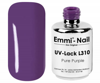 Emmi-Shellac / UV/LED-Lack Pure Purple -L310-
