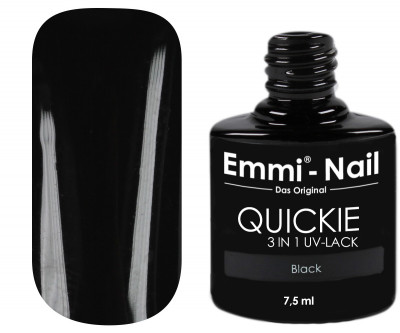 Emmi-Nail Quickie Black 3in1 -L014-