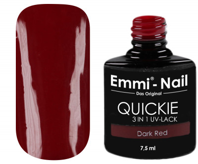 Emmi-Nail Quickie Dark Red 3in1 -L021-