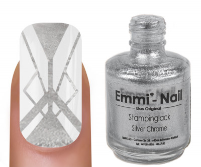 "Stampinglack ""silver chrome"" 15ml"