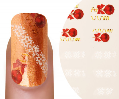 Emmi-Nail Watertattoo Christmas 9