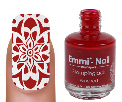 "Stampinglack ""wine red"" 15ml"