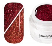 Emmi-Nail Thermogel Vampire - Bloody Red Glitter 5ml -F244-