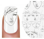 Emmi-Nail Watertattoo Face Line 2