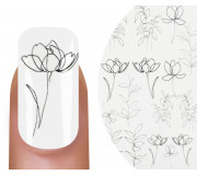 Emmi-Nail Watertattoo Flower Line