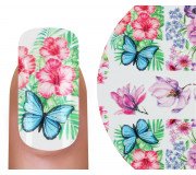Emmi-Nail 3D Tattoo Butterfly Flowers