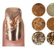 Emmi Nailart Powder-Set Gold