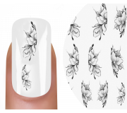 Emmi-Nail Nailsticker Black Rose