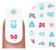 Emmi-Nail Nailsticker 3D Christmas 2