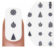 Emmi-Nail Nailsticker 3D Vintage Christmas