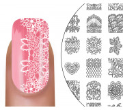 MoYou-London Stamping Schablone Bridal 06