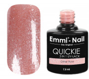 Emmi-Nail Quickie Glitter Rose 3in1