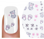 Emmi-Nail Nailsticker Christmas 14