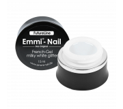 Emmi-Nail Futureline French-Gel milky white glitter 15ml *limited*
