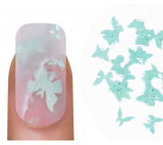 "Emmi-Nail Nailart ""Butterflies"" Turquoise 1"