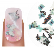 "Emmi-Nail Nailart ""Butterflies"" Turquoise 2"