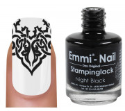 "Stampinglack ""night black"" 15ml"