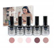 "Emmi Shellac / UV-Lack Set ""I love nudes"""