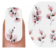 Emmi-Nail Watertattoo Nude Flowers 2