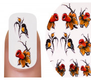 Emmi-Nail Nailsticker Yellow Flowers