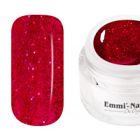 Emmi-Nail Farbgel Magic Red Glitter 5ml -F133-