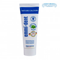 Emmi-dent Ultraschall-Zahncreme nature Calcium 75ml