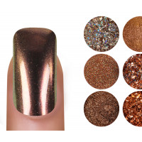 Emmi Nailart Powder-Set Kupfer