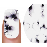 Emmi-Nail Watertattoo Black Flowers 5